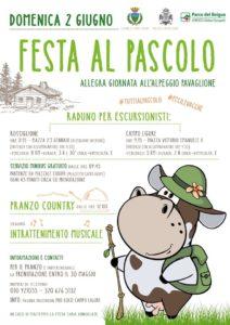 Campo Ligure locandina festa al Pascolo