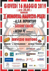 """2° """"Memorial Pileri"""": 3 squadre in campo per il Gaslini"""