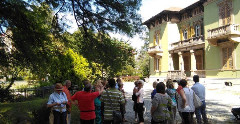 """Lavori nel parco di Villa Gabrieli, """"luogo del cuore FAI"""""""