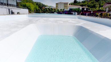 Proseguono i lavori per l'apertura della piscina di zona Bagni