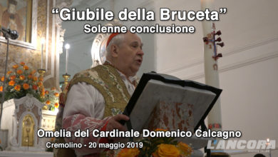 Cremolino - Omelia del Cardinale Domenico Calcagno (VIDEO)