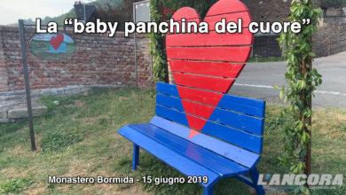 "Photo of Monastero Bormida – La ""baby panchina del cuore"" (VIDEO)"