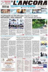 Prima pagina del N°22 del 9 giugno 2019