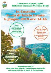Tanti eventi per i più piccoli nel weekend di Campo Ligure