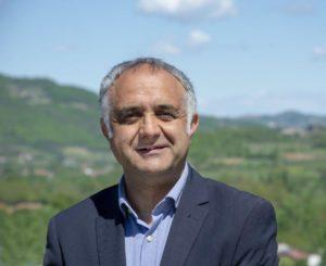 Cartosio,  il sindaco Mario Morena