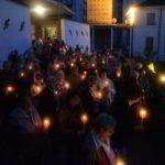 Santuario della Madonna Pellegrina Processione