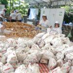 "Visone: tanta gente in paese per la ""Festa del Busìe"""