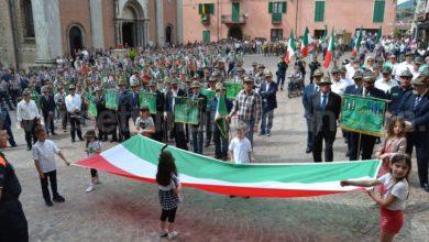Photo of Vesime, 31ª Festa ANA Sezione di Asti una imponente sfilata con 70 gagliardetti e 14 vessilli