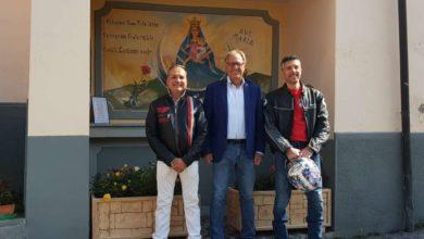 """Photo of Valbormida, Melis (M5S): """"Con i bikers a Bormida, per il consueto raduno con benedizione delle moto all'altare dedicato ai motociclisti"""""""