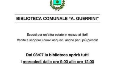 Tiglieto: orario estivo per la biblioteca