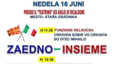 Festa italo-macedone a Ricaldone