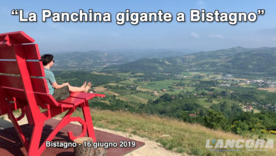 Bistagno - La grande panchina - The Big Bench