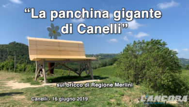 Photo of La panchina gigante di Canelli (VIDEO)