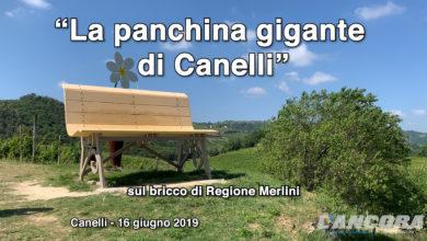 La panchina gigante di Canelli
