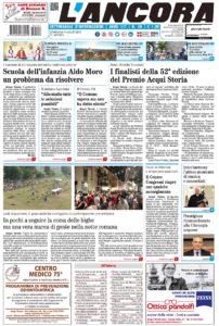 Prima pagina del N°26 del 7 luglio 2019