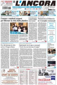 Prima pagina del N°29 del 28 luglio 2019
