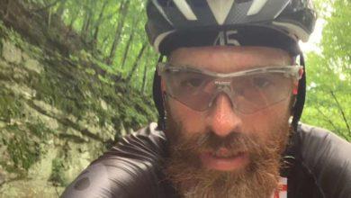 Max Oliva attraversa gli Stati Uniti in bici