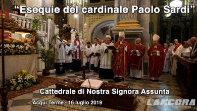 Acqui Terme - Esequie del cardinal Paolo Sardi (VIDEO)