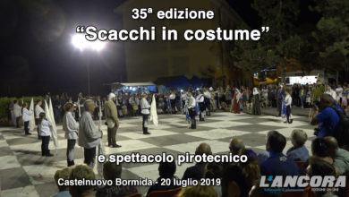 "Photo of Castelnuovo Bormida – 35ª edizione ""Scacchi in costume"" (VIDEO)"