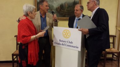 Photo of L'illustre chirurgo Spinoglio ospite del Rotary Club Ovada del Centenario