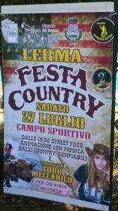 Festa country a Lerma