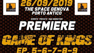 Game of Kings: final trailer e prevendite aperte per la premiere al porto antico di genova
