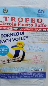 "Beach Volley al circolo ""Raffo"""
