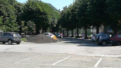 Rossiglione: lavori di asfaltatura e spostamento del mercato