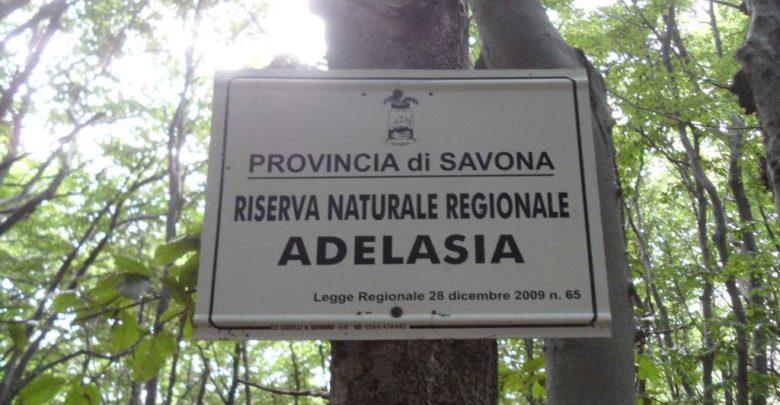 Cartello del parco Adelasia