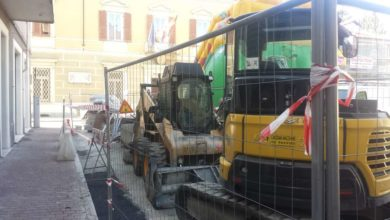 Riqualificazione urbana, lavori ai marciapiedi di via Torino ad Ovada
