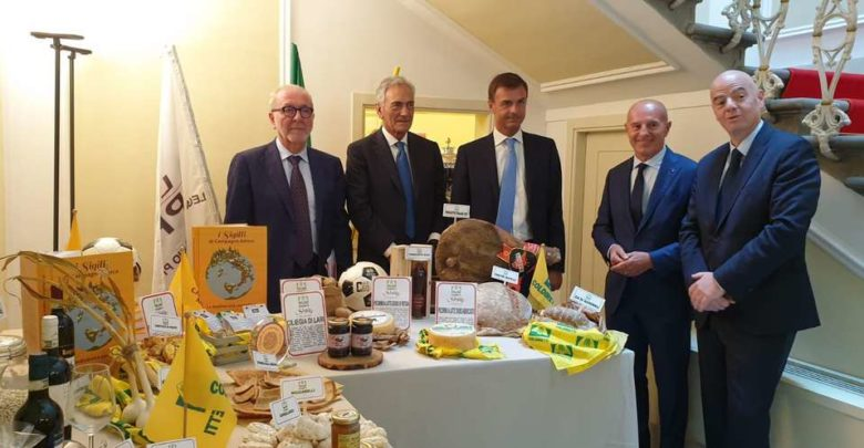 Sport e sana alimentazione: il Made in Italy scende in campo, in arrivo il menu contadino