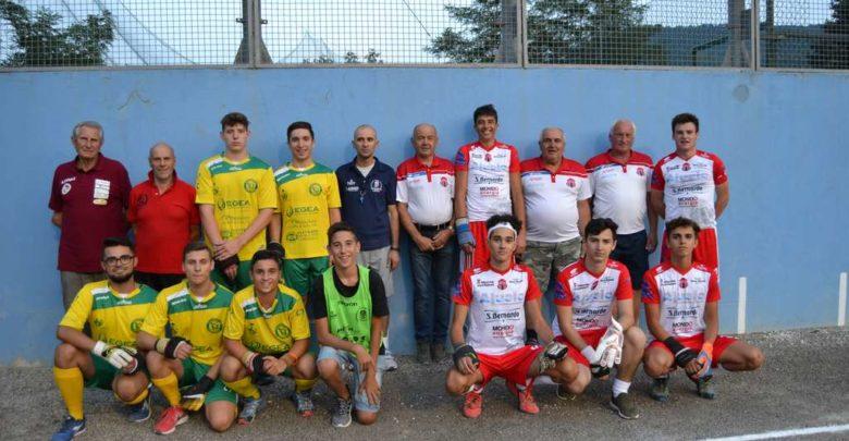 Pallapugno campionato Juniores, Cortemilia 1ª in classifica nel girone rosso