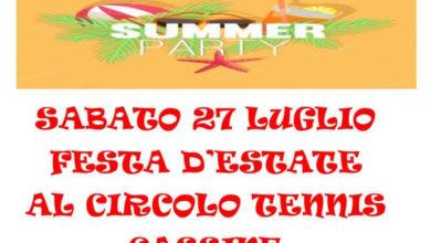 Photo of Festa d'estate al CT Cassine