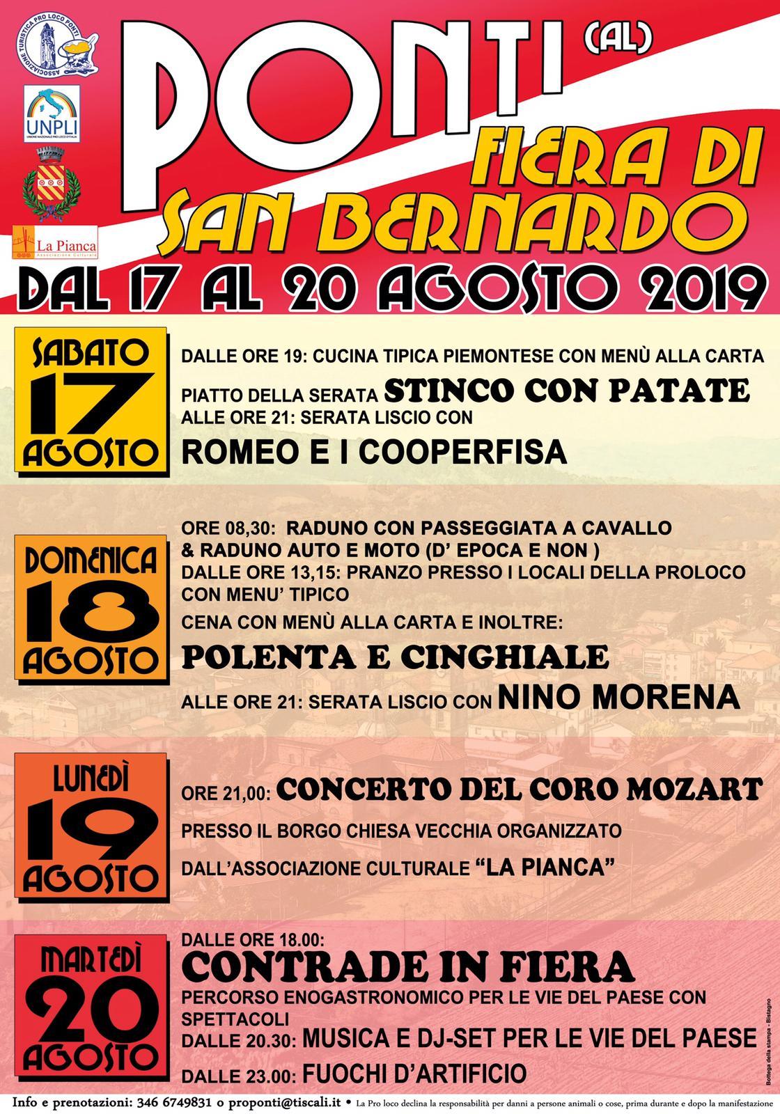 Fiera di San Bernardo 2019 - Ponti