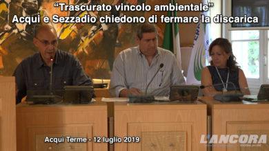 """Photo of """"Trascurato vincolo ambientale"""". Acqui e Sezzadio chiedono di fermare la discarica"""