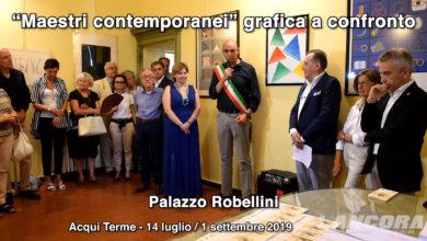 "Acqui Terme - ""Maestri contemporanei"" grafica a confronto"
