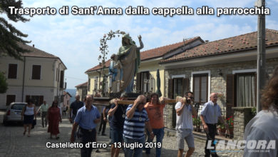 Photo of Castelletto d'Erro – Trasporto di Sant'Anna dalla cappella alla parrocchia (VIDEO)