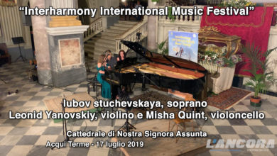 Photo of Acqui Terme – Interharmony International Music Festival (VIDEO)