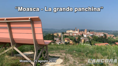 Photo of Moasca – La panchina gigante (VIDEO)