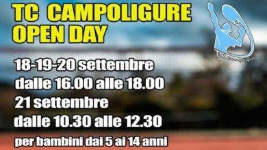"""Photo of Tennis – Quattro """"Open day"""" al TC di Campo Ligure"""