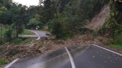 Photo of Maltempo: strade chiuse per frane