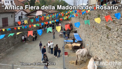 Photo of Visone – Antica fiera della Madonna del Rosario 2019 (VIDEO)