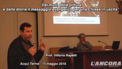 """Photo of """"Dai muri, dalle pitture  e dalla storia il messaggio evangelico per una Chiesa in uscita"""" (video)"""