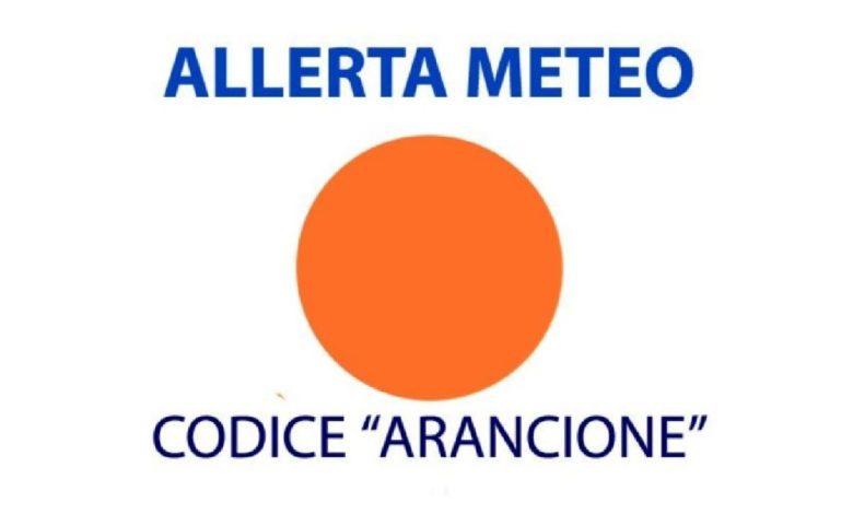 Allerta meteo arancio