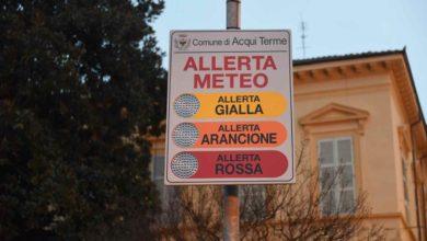 Photo of Maltempo: allerta arancione domani su Piemonte sud orientale e settentrionale. Allerta rossa in Liguria