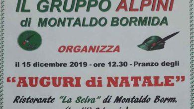 Photo of Montaldo: Pranzo degli Auguri per il Gruppo Alpini