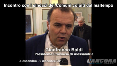 Photo of Gianfranco Baldi, presidente Provincia di Alessandria (VIDEO)