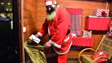 Photo of Babbo Natale è in piazza Italia
