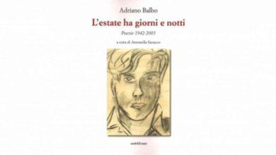 """Photo of Santo Stefano Belbo, si presenta il libro di Adriano Balbo """"L'estate ha giorni e notti"""""""