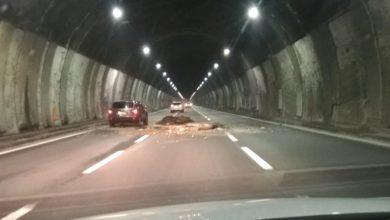 Photo of Autostrada: crolla parte del soffitto nella galleria Bertè. Stop al pedaggio nel tratto Ovada-Masone